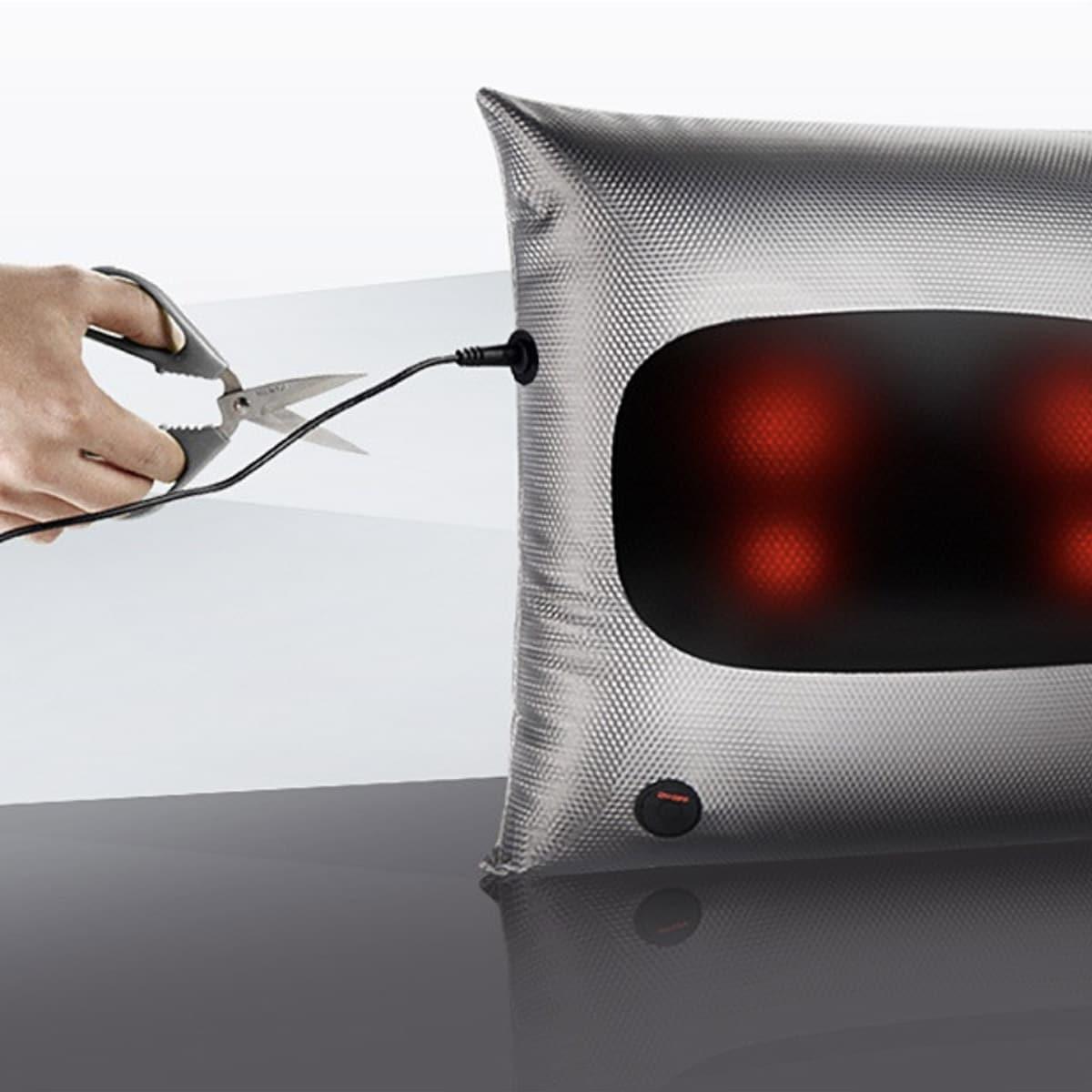 Batteriedriven massagekudde