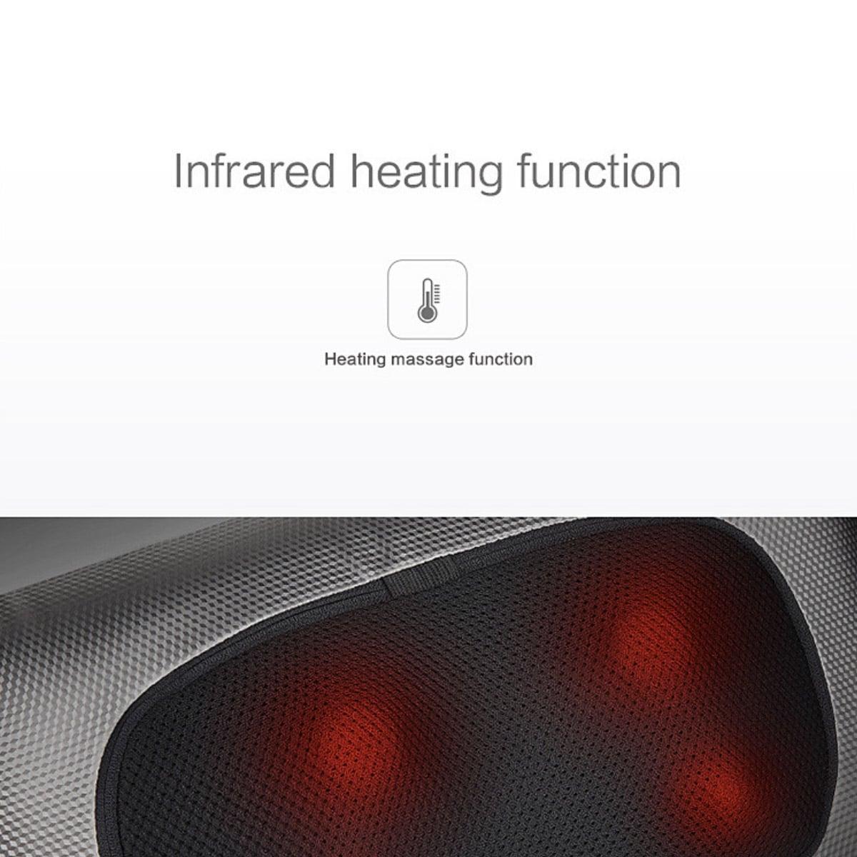 Massagekudde med värme